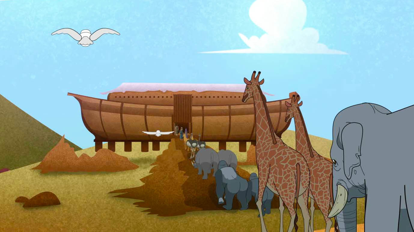 Noah - God gives grace to the humble