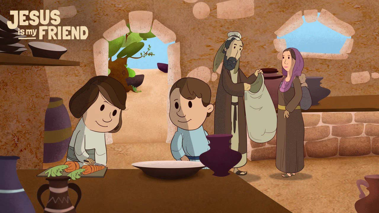 Jesus' childhood in Nazareth