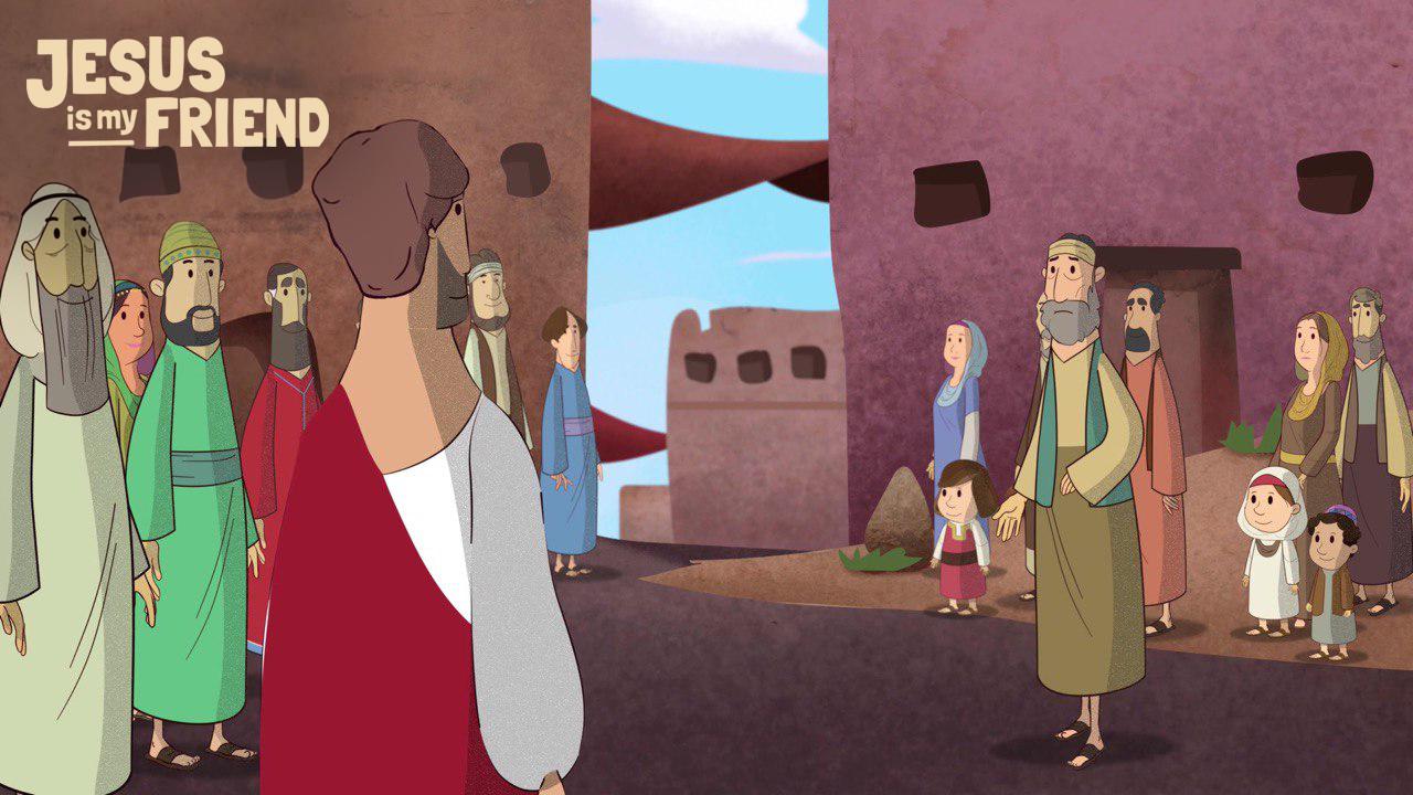 Jesus helbredet menneskene