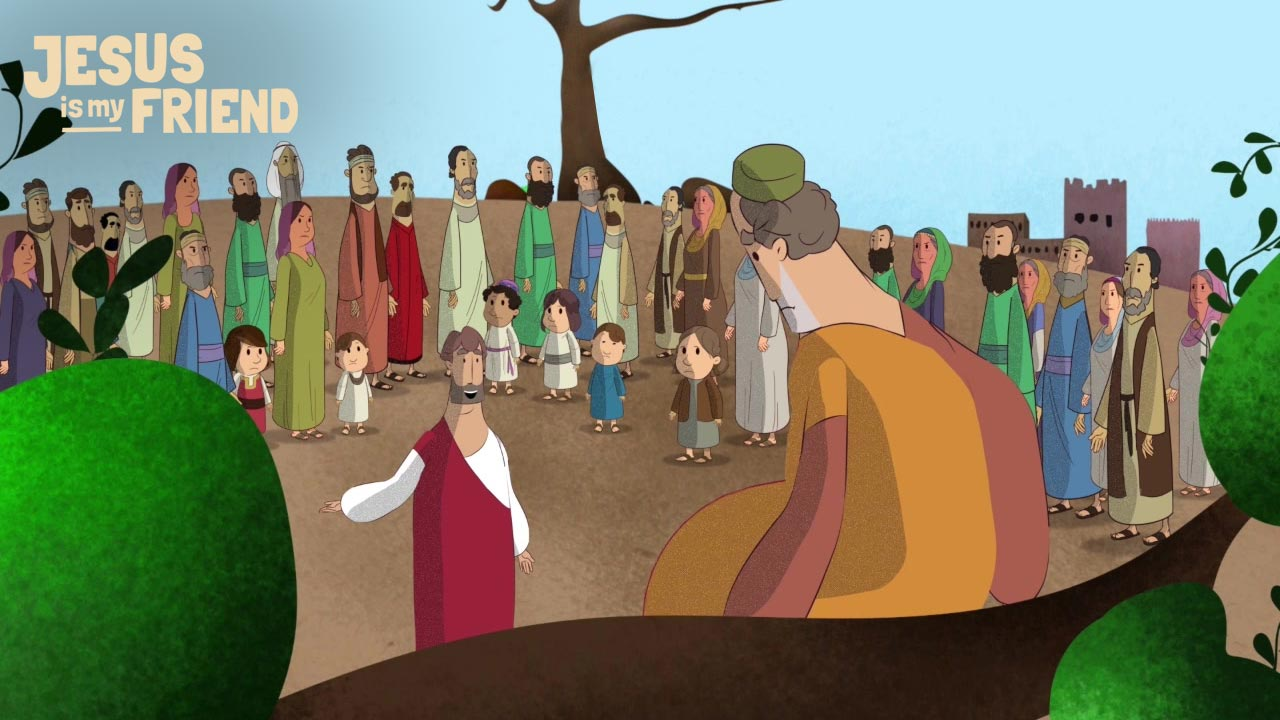 Jesus and the unpopular Zacchaeus