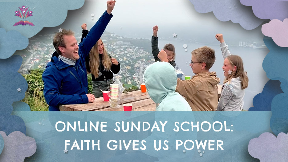 Online Sunday school, 30th August