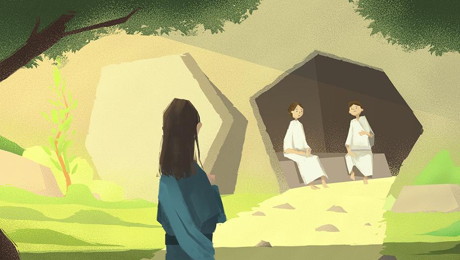 Jesus stod opp fra de døde