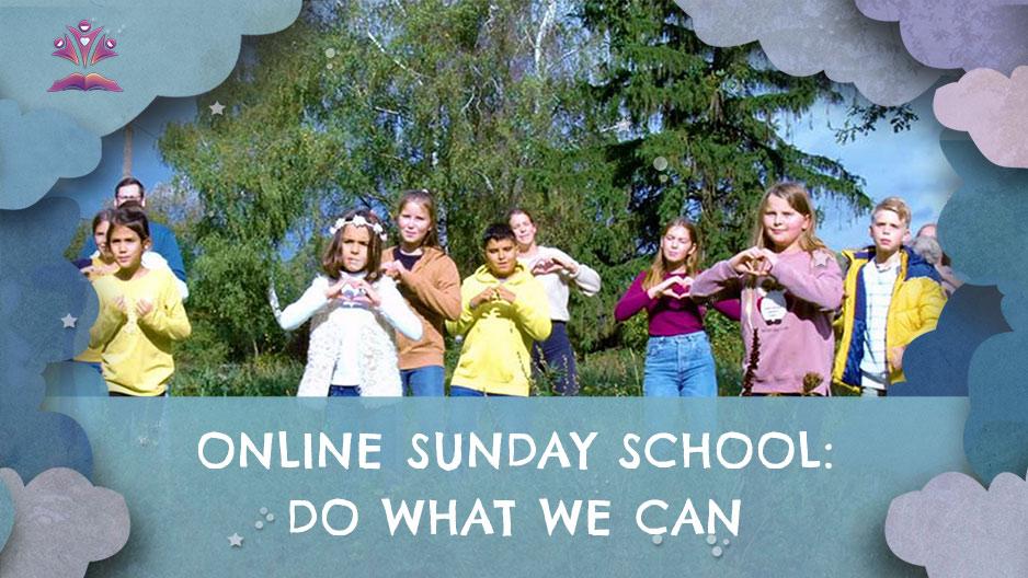 Online Sunday school 01st November